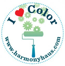 Harmony Haus - I love color button